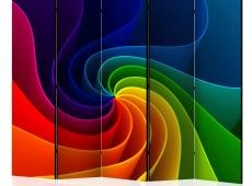 Paraván - Colorful Pinwheel II [Room Dividers]